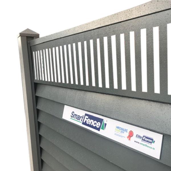 Fence type -Trellis slots